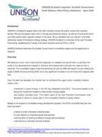 thumbnail of UNISON Scotland Offshore Wind Response April 2020