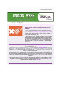 thumbnail of UNISON Week 257
