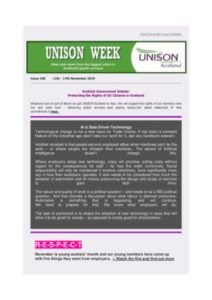 thumbnail of UNISON Week 269