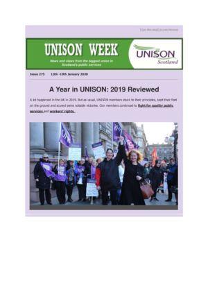 thumbnail of UNISON Week 275