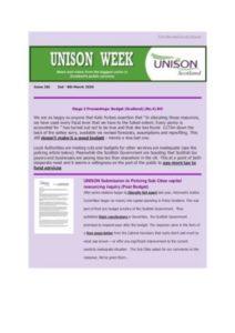 thumbnail of UNISON Week 281