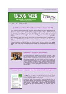 thumbnail of UNISON Week 282