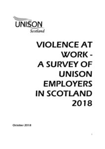 thumbnail of UNISONScotlandViolenceAtWorkSurvey_October2018