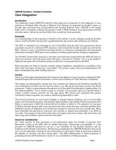 thumbnail of UNISONScotland_CareIntegrationStatement_March 2011
