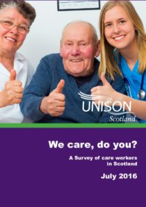 We Care Do You? Care workers survey