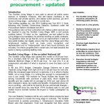 Briefing 69: Extending the Scottish Living Wage through procurement - updated - Nov 2015