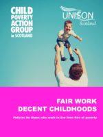 Fair work decent childhoods