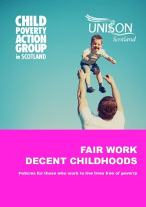 Fair work decent childhoods