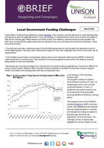 e-briefing Local government funding challenges - Fiscal Affairs Scotland analysis