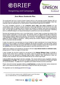 e-briefing: Zero hours contracts - Queen's Speech