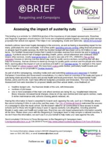 thumbnail of ebrief Cuts Impact Assessment Nov 2017