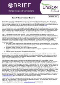thumbnail of ebrief local governance review November 2018