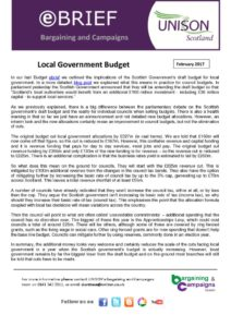 thumbnail of ebrief local government budget Feb 2017