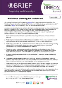 thumbnail of ebrief social care workforce planning