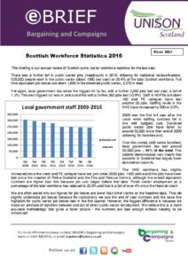 thumbnail of ebrief workforce stats 2017