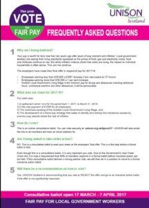 Fair Pay 2017 FAQs