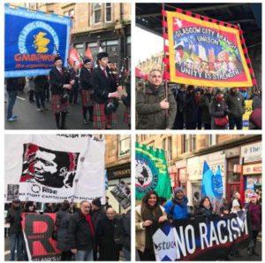 Glasgow St Andrew's Day Rally