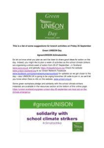 thumbnail of greenUNISON Day Branch Ideas