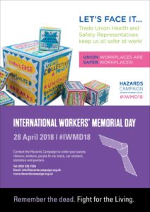 International Workers Memorial Day 2018 remember the dead fight for the living