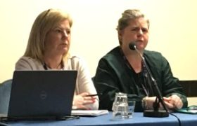 Kath Stirling and Lyn Marie O'Hara