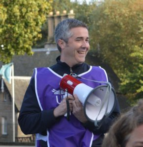 Chris Greenshields, chair of UNISON FE committee