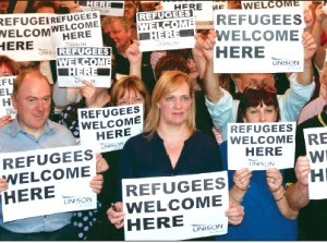 Refugess welcome here