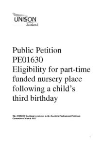 thumbnail of response re early years petition PE1630