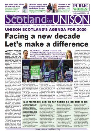 Scotland in UNISON February 2020