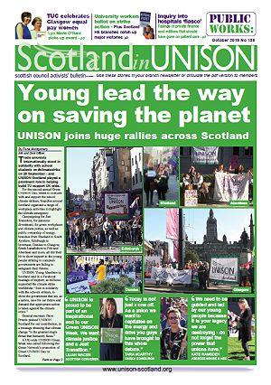 Scotland in UNISON October 2019