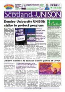Scotland in UNISON October 2021