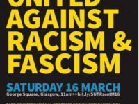 March aganist racism 16 March