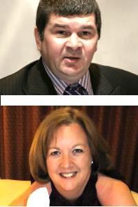 Tam Waterson and Sandra-Dee Masson