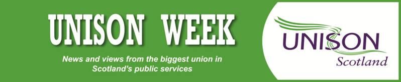 UNISON Week header