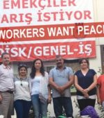 Solidarity with Turkish trade unionists