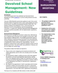 thumbnail of Bargaining briefing devolved school management guidleines 2019