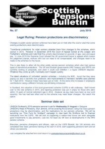 thumbnail of Scot Pensions bulletin 57 July 2019
