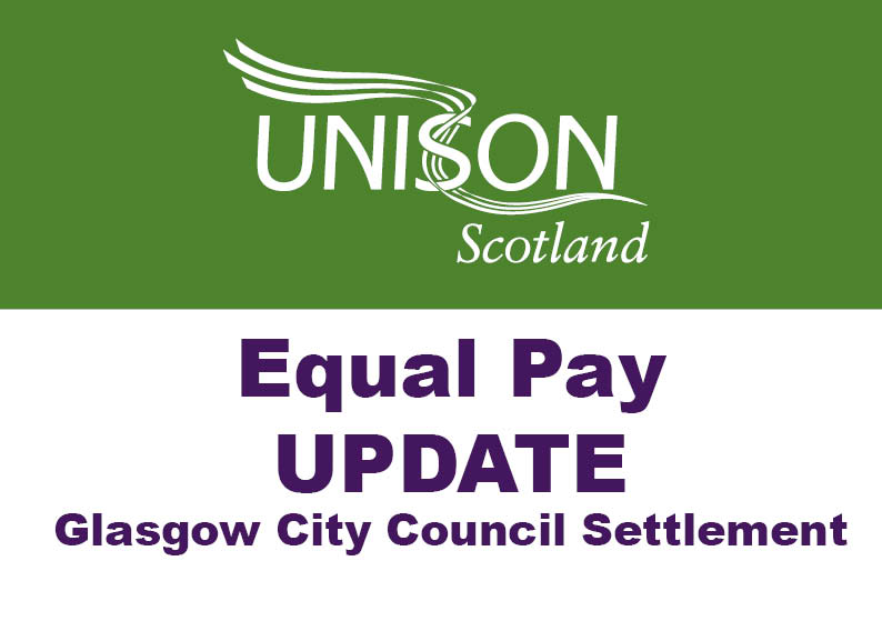 Equal Pay Glasgow Update